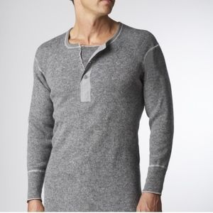 Standfield's Heavy Weight Wool Long Sleeves Top